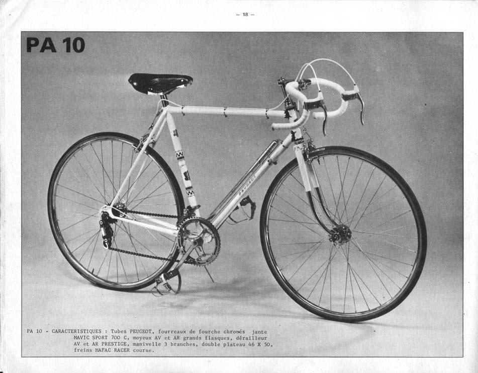 listing pièces peugeot PA 10 ? 1966_2