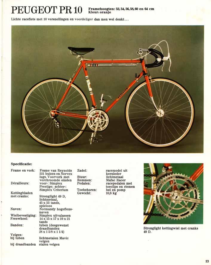Besoin d'aide pour identification vélo course Peugeot. 1974_3