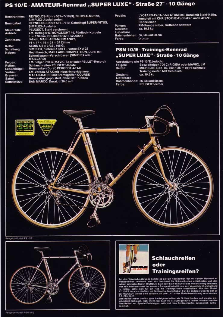 Vélo peugeot reynolds  1977_5