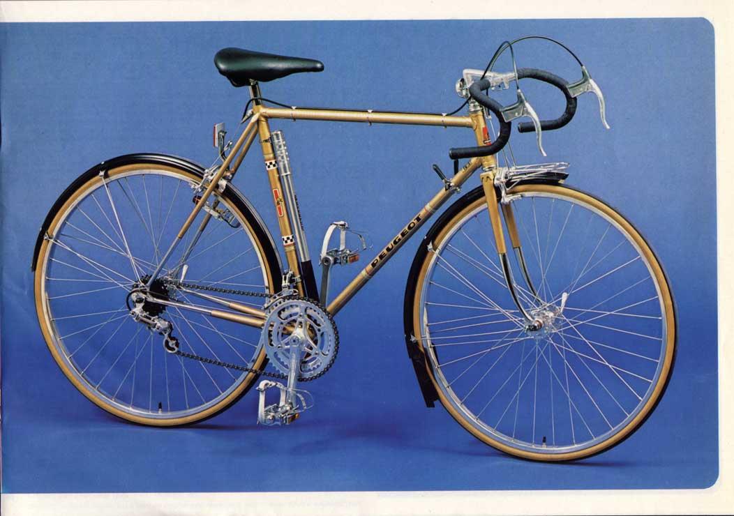 vélo dame PEUGEOT PR 65 LADY  doré de 1978-79 neuf  1978_9