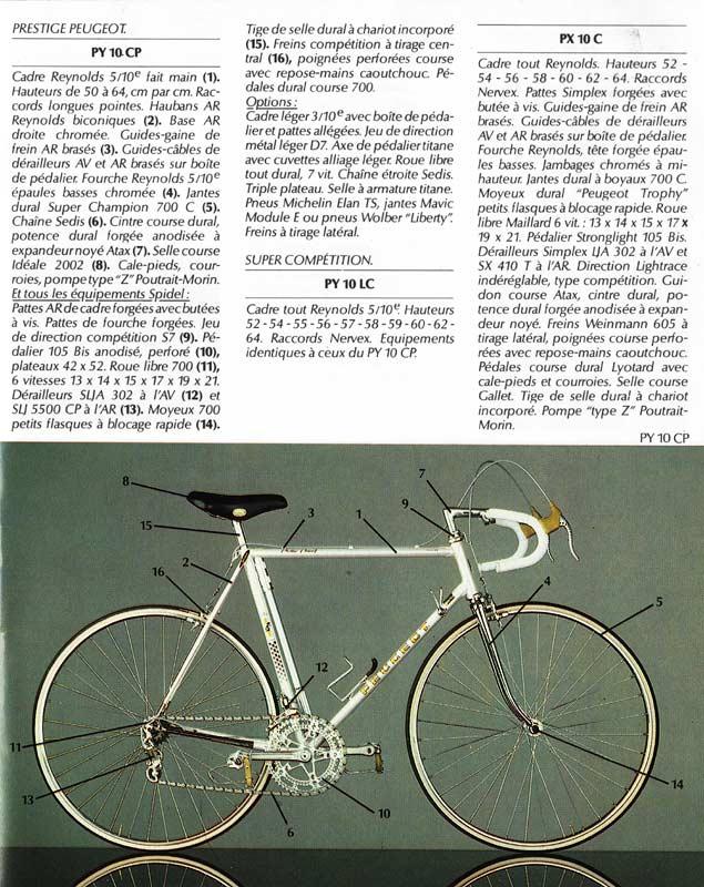 peugeot PY 10  GOLD - autour de 1975 / 1976 1979_11