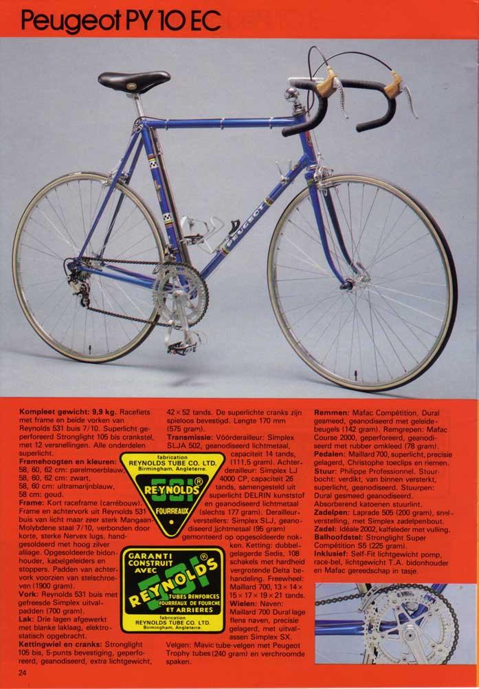 peugeot PY 10  GOLD - autour de 1975 / 1976 1979_3