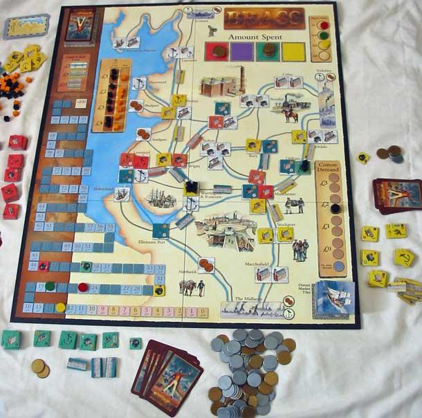 Brass: juego de mesa sobre la Revolucion Industrial Brass-1