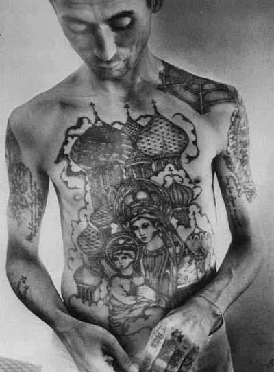 Les Tatouages dans les prisons russes Ru-4