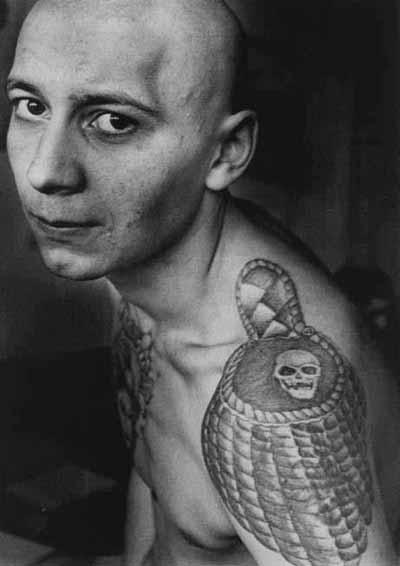 Les Tatouages dans les prisons russes Ru-7