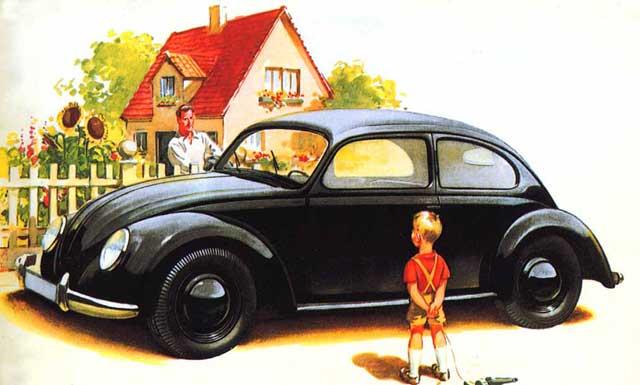 La KdF Wagen ou Volkswagen ! Vw-ad-1939-kdf-wagen