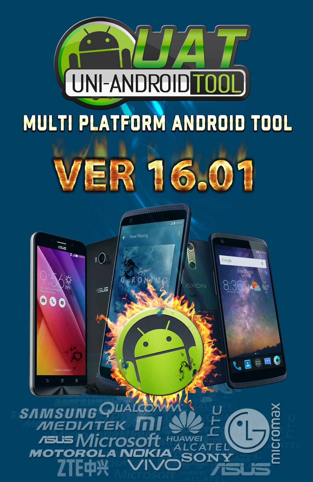 :تحديثــات: Uni-Android Tool [UAT] Version 16.01 Released [5/4/2018] K6JCDGSy