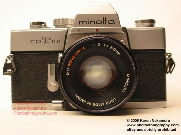 Mon premier appareil photo MinoltaSRT101-1