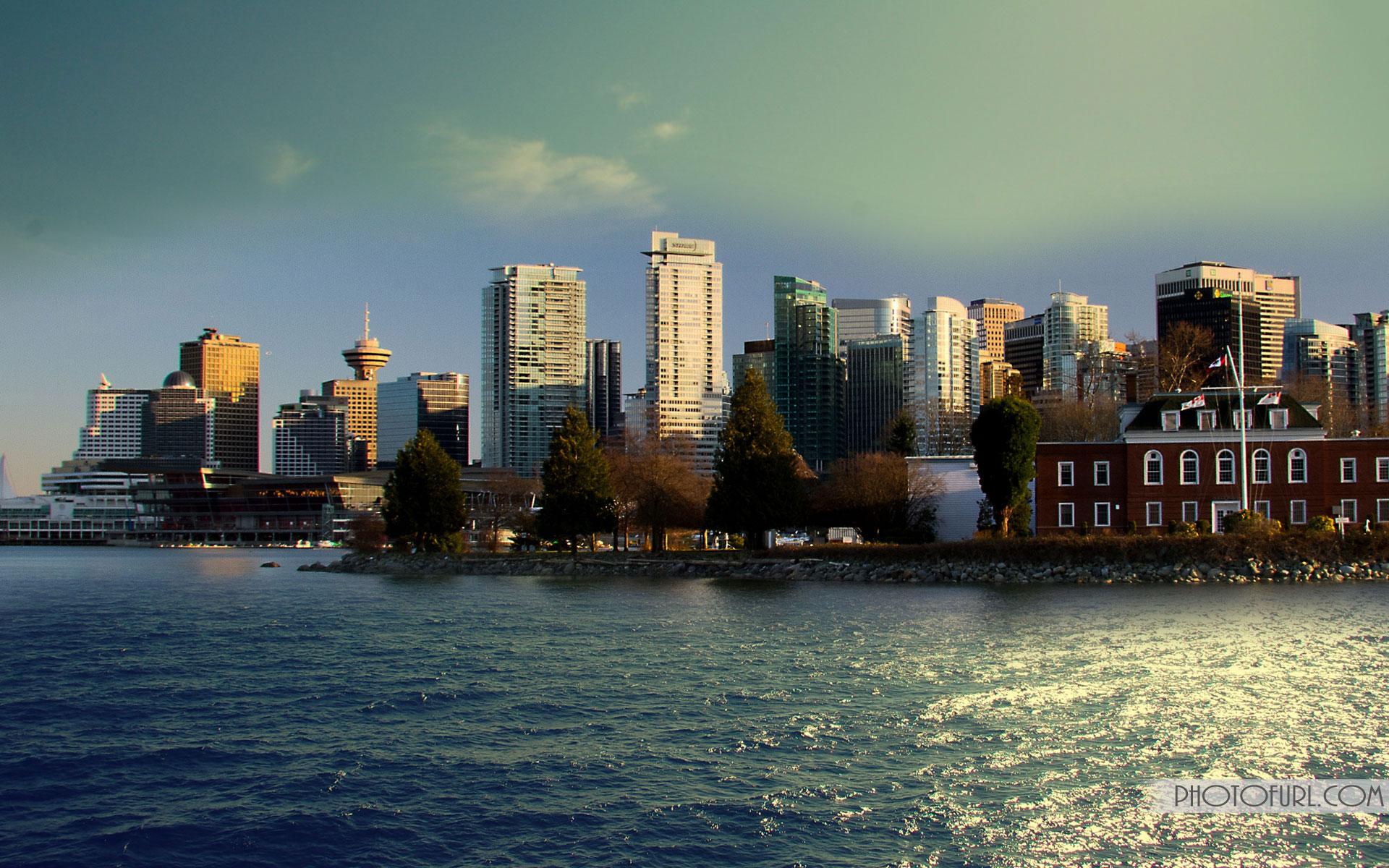 கனடா Canada-city-lights-of-montreal-quebec-wallpaper