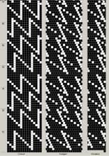 Техника:Жгут из бисера, вязанный крючком 3os2bs-3d5
