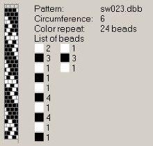 Техника:Жгут из бисера, вязанный крючком 3os39j-bxm