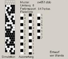 Техника:Жгут из бисера, вязанный крючком 3os4v0-796