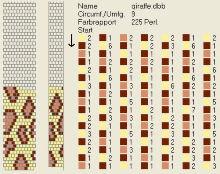 Техника:Жгут из бисера, вязанный крючком 3os58k-e5b