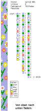 Техника:Жгут из бисера, вязанный крючком 3os5ok-vxg