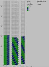 Техника:Жгут из бисера, вязанный крючком - Страница 2 3os6lo-1pn