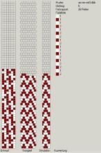 Техника:Жгут из бисера, вязанный крючком - Страница 2 3os6nz-yc6