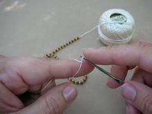 Техника:Жгут из бисера, вязанный крючком - Страница 2 3ovzsd-8yl