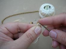 Техника:Жгут из бисера, вязанный крючком - Страница 2 3ovzvu-1rx