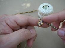 Техника:Жгут из бисера, вязанный крючком - Страница 2 3ovzyu-84n