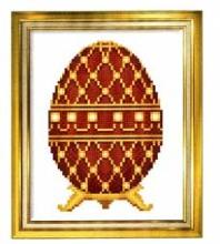 Апрель 2009. Вышитое яйцо 3xxr16-zs8