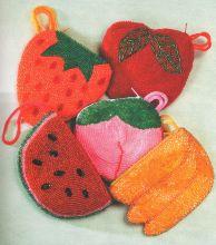 Бисерные кошелечки-фрукты 3xcn39-lgq