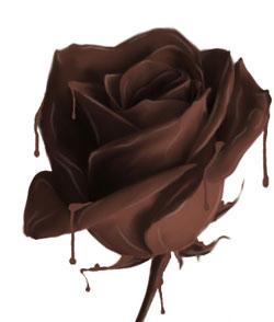 розочка из шоколода Sludgini
