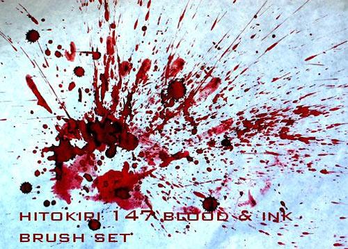 Кисти - Страница 2 Blood-splatters-brushes-4
