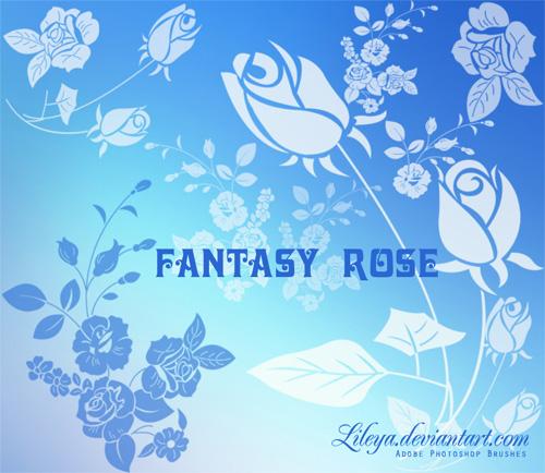 Кисти - Страница 2 Rose-photoshop-brushes-4
