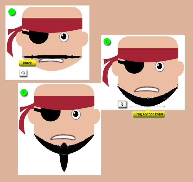 [حصريا] كيفية تصميم قرصان بالفوتوشوب - How to Draw a Cute Pirate Character in Photoshop Step-013