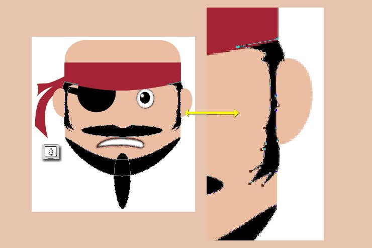 [حصريا] كيفية تصميم قرصان بالفوتوشوب - How to Draw a Cute Pirate Character in Photoshop Step-015