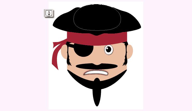 [حصريا] كيفية تصميم قرصان بالفوتوشوب - How to Draw a Cute Pirate Character in Photoshop Step-017