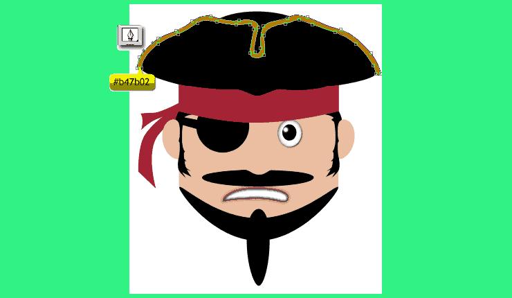 [حصريا] كيفية تصميم قرصان بالفوتوشوب - How to Draw a Cute Pirate Character in Photoshop Step-018