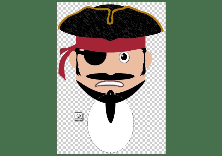 [حصريا] كيفية تصميم قرصان بالفوتوشوب - How to Draw a Cute Pirate Character in Photoshop Step-021