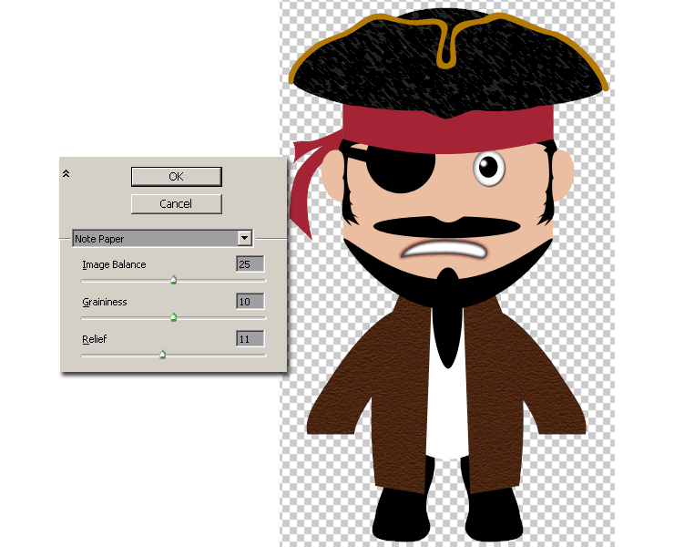 [حصريا] كيفية تصميم قرصان بالفوتوشوب - How to Draw a Cute Pirate Character in Photoshop Step-024