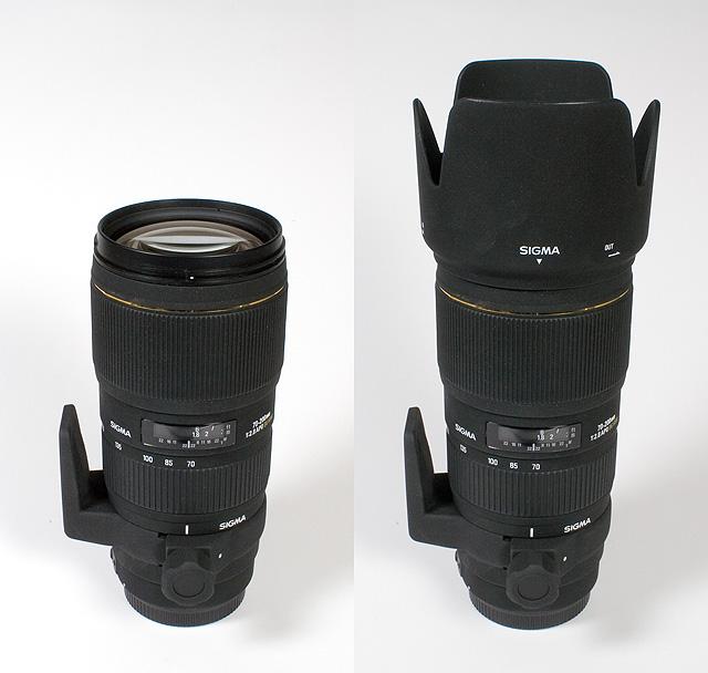 Sigma AF 70-200mm f/2.8 EX APO HSM DG Canon EOS (APS-C) Lens