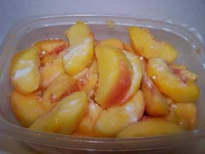 تجميد الخضروات والفواكه Peachesff