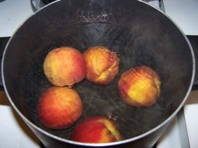 تجميد الخضروات والفواكه Peacheshotwater