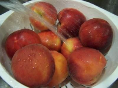 تجميد الخضروات والفواكه Peacheswash