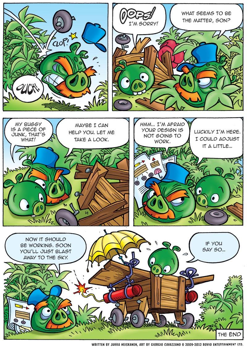 Комикс Bad Piggies 97401_Bad-Piggies-Comic-Part-2