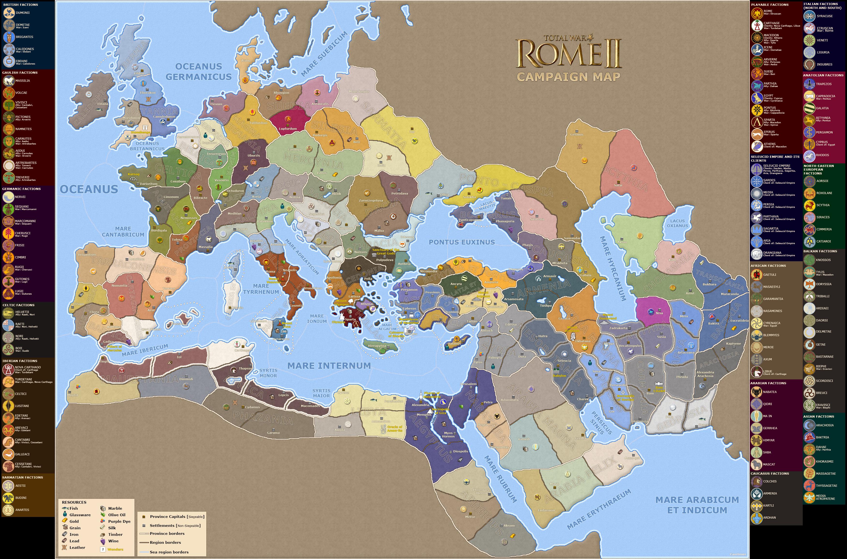 Rome Total War II - Preview 54216_LargeMap004