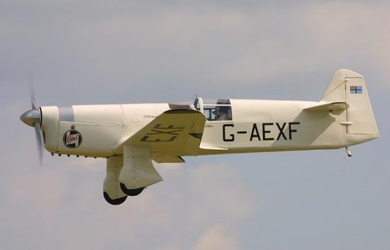 John Desmond Penrose - britanski test pilot Gull
