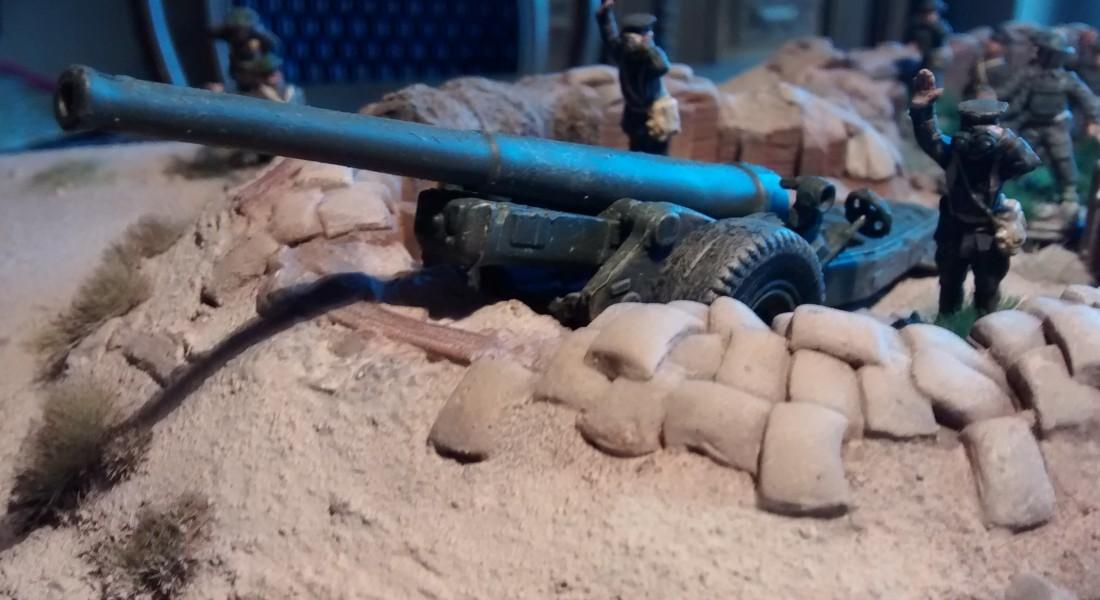 British Expeditionary Force: Sturmtiger @ France Strelets-a004-6-inch-mk-xix-cannon-00-Feuerschlag-Im-Morgengrauen