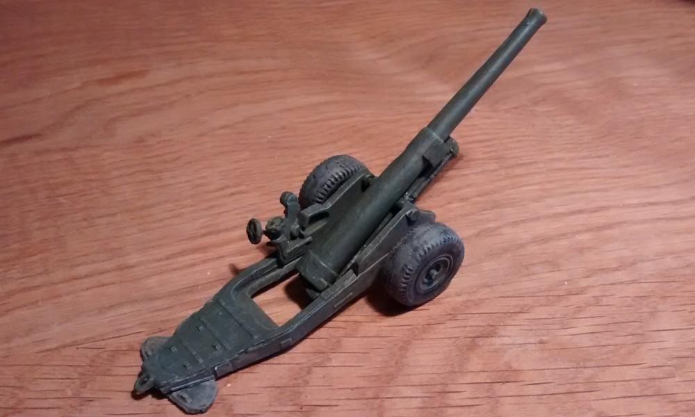 British Expeditionary Force: Sturmtiger @ France Strelets-a004-6-inch-mk-xix-cannon-montiert-von-halb-rechts