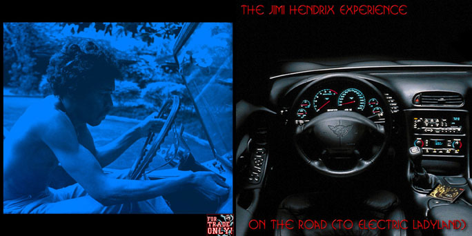 On The Road (To Electric Ladyland) (ATM 063-064) HendrixOnTheRoadFront