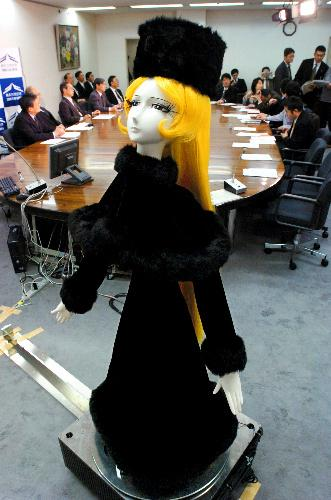 Real - Anime style robots Maetel