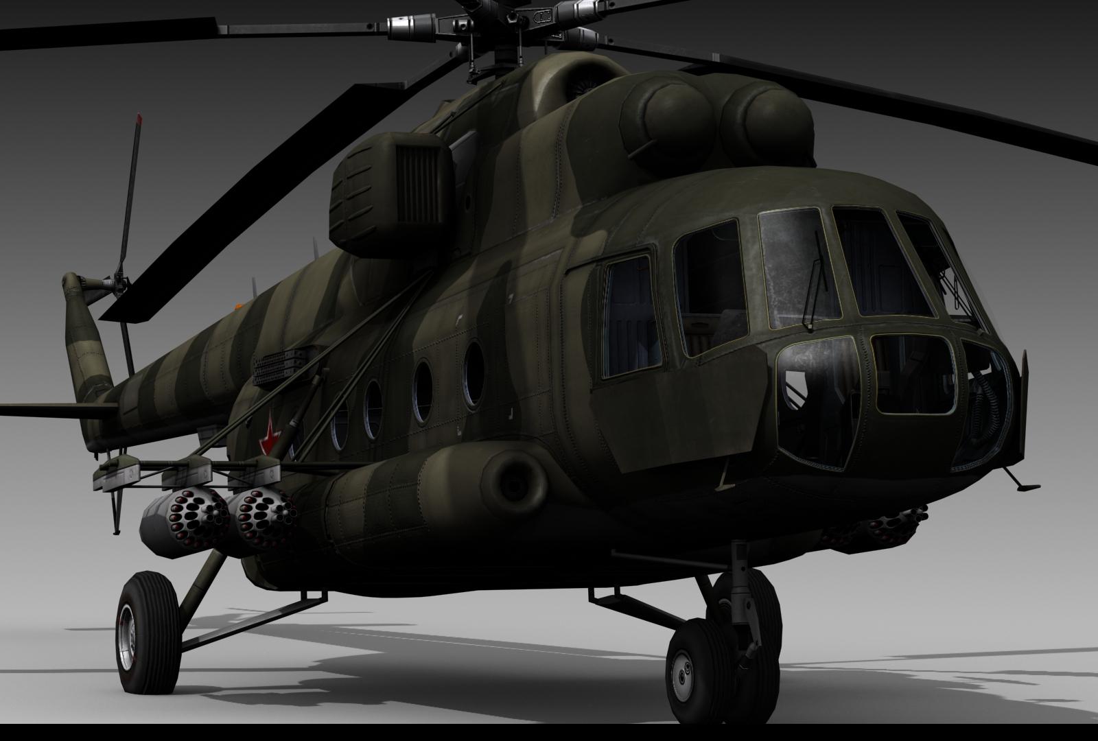 Hélico de transport Mil Mi-8 'hip' Mi17_14