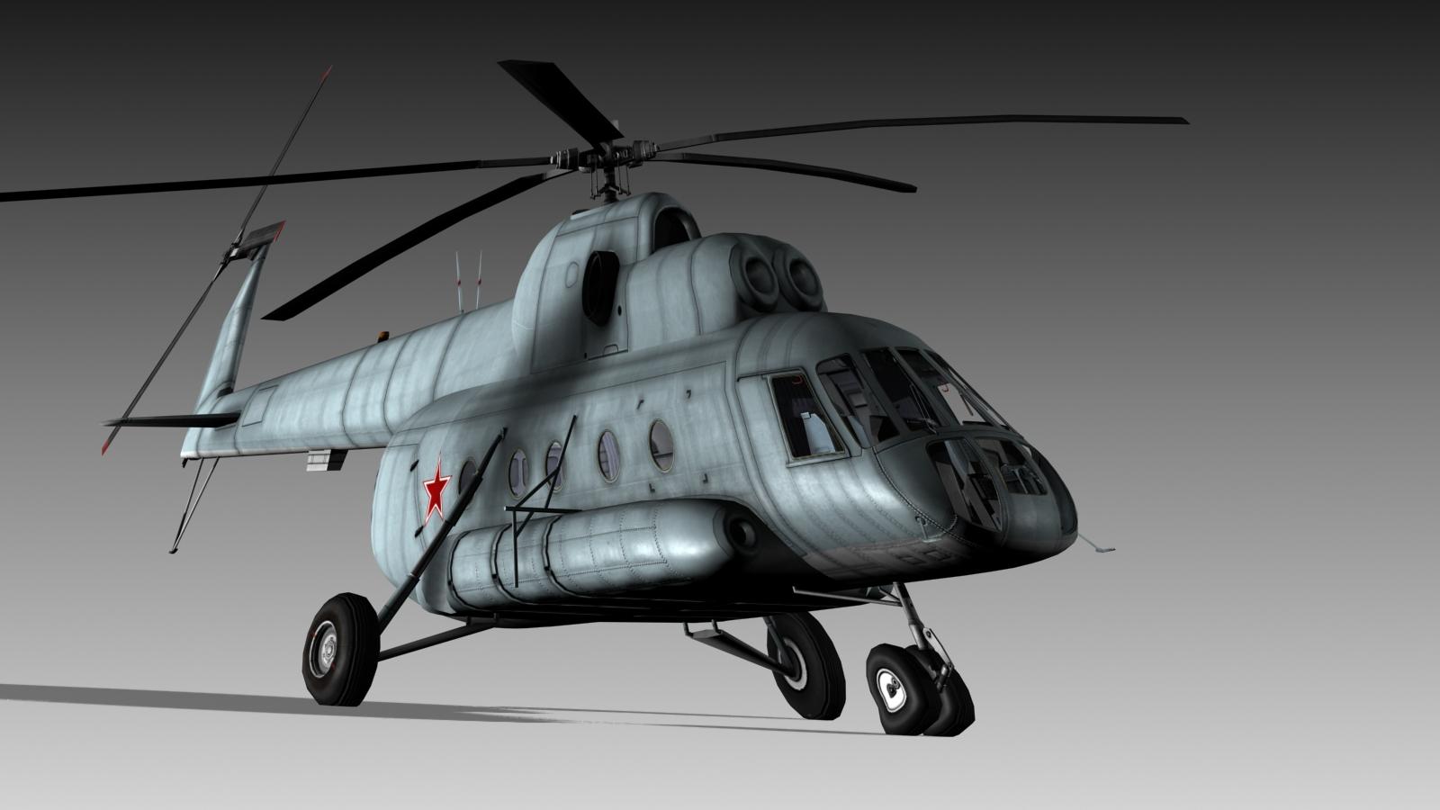 Hélico de transport Mil Mi-8 'hip' Mil-8_23