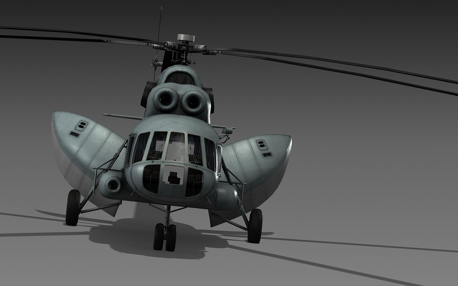 Hélico de transport Mil Mi-8 'hip' Wip_m-8_1