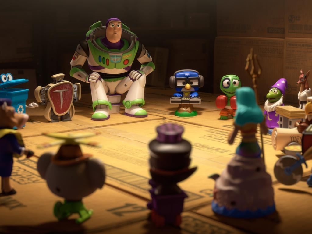 [Cartoon Pixar] Mini Buzz (2011) Small02
