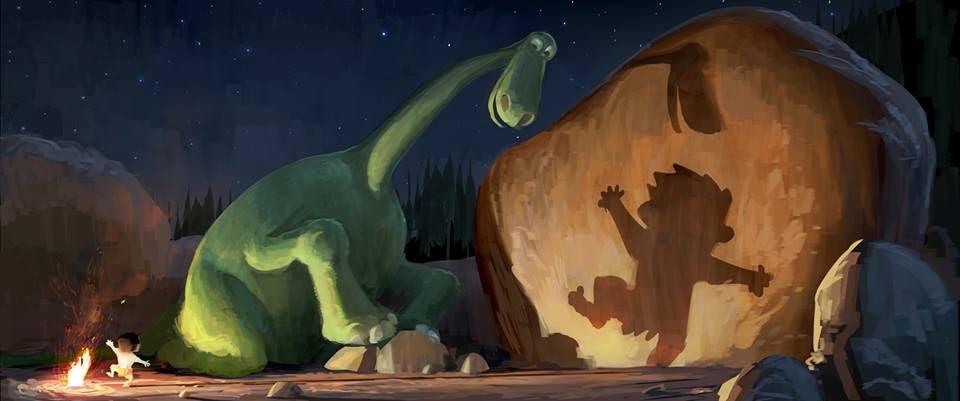 Le Voyage d'Arlo - 2015 Artwork-dinosaure-03
